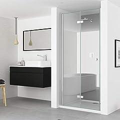 IMPTS 100cm Duschtür Duschkabine Nische