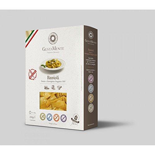 GustaMente Ravioli Patate Parmigiano Reggiano Senza Glutine 250g