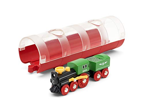BRIO Bahn 33892 - Tunnel Box Dampflokzug