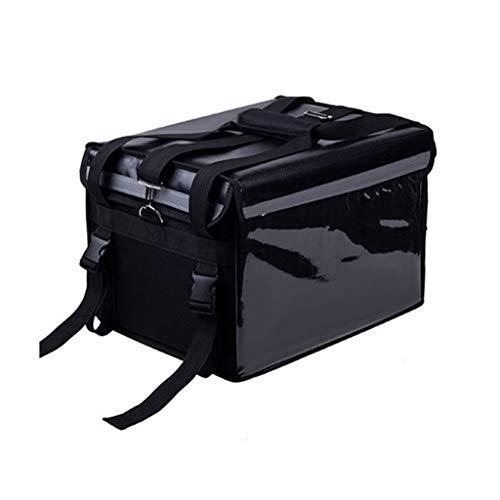 Waterdichte Koelbox, Afhaalmaaltijden Levering Multifunctionele Koelbox Huishoudelijke Outdoor Picknick Reizen Zwart Gemakkelijk te dragen Isolatie Doos 32L