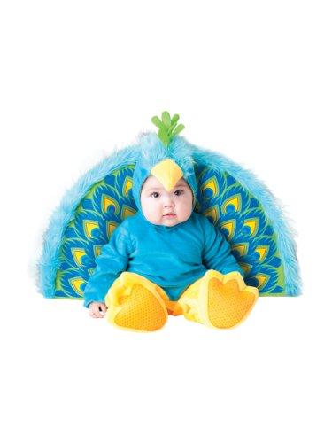 Generique Disfraz Pavo Real para bebé - Premium 0-6 Meses (50-68 ...