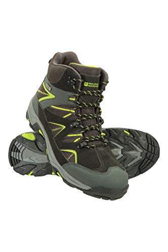 Mountain Warehouse Botas Impermeables Rapid para Hombre - Impermeables, empuñadura Resistente, Zapatos Acolchados Eva, Forro de Malla - Calzado para Caminatas Negro 47