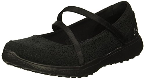 Skechers Women Microburst-Pure Cleanse Mary Mary Jane Janes,  Black (Black),  7 UK (40 EU)
