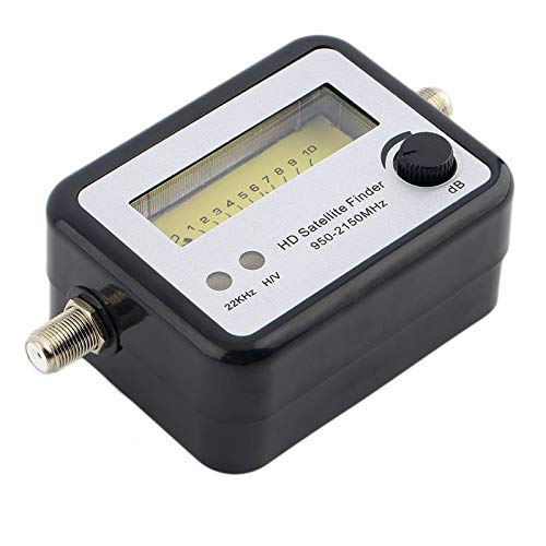 BianchiPatricia Digital Satellite Signal Finder Meter Compass FTA TV Signal Receiver & Finder