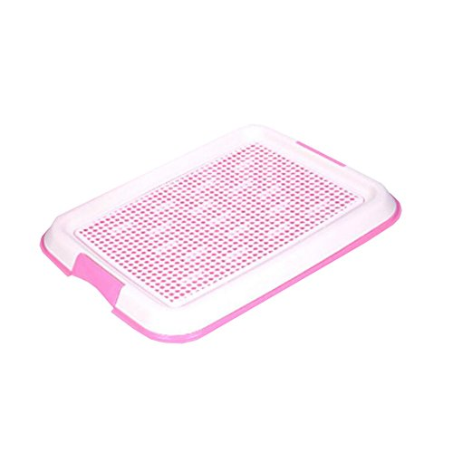 George Jimmy Dog Toilet Puppy Dog Pet Potty Patch Training Pad Pet Supplies 48 X 36 cm Pink