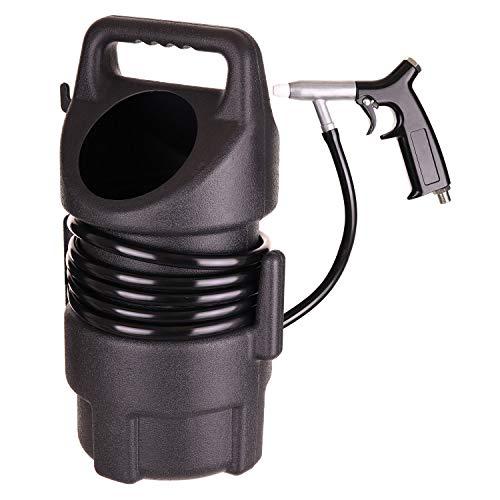 """Sandstrahlpistole mit Sandbehälter 10 l und Schlauch (4,5 m), Anschluss 1/4\"""", Keramikdüse Ø 5 mm, Arbeitsdruck 4-6,5 bar"""