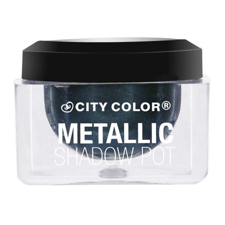 準備したパプアニューギニアダブルCITY COLOR Metallic Shadow Pot - Galaxy (並行輸入品)