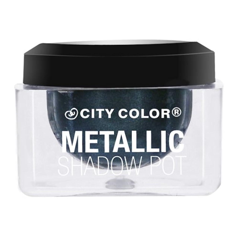 抽選神秘的なアコーCITY COLOR Metallic Shadow Pot - Galaxy (並行輸入品)