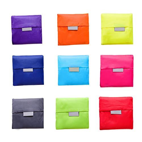 Comfysail 3 Pcs Paquetes Bolsa Compra Plegable Bolsa de la Compra Reutilizable...