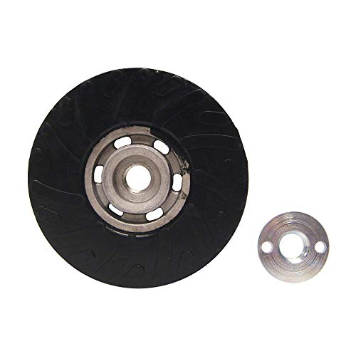 Mercer Industries 324045 Backing Pad for Semi-Flexible Discs - Rubber, 4-1/2