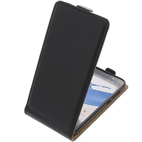 foto-kontor Tasche für ZTE Blade L6 Smartphone Flipstyle Schutz Hülle schwarz