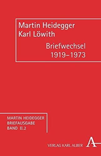 Martin Heidegger Briefausgabe: Briefwechsel 1919-1973