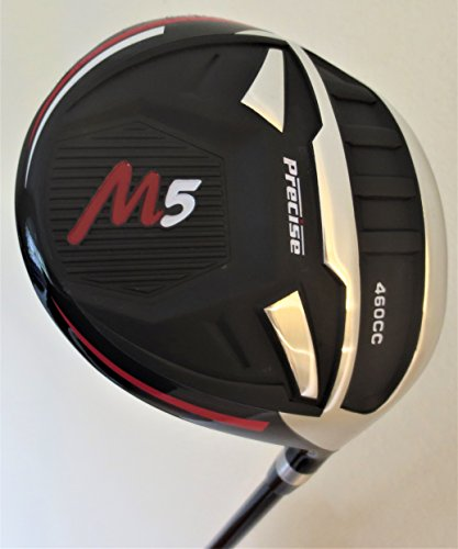 Mens M5 460cc Golf Driver Super Long Hitting and Accurate Ti Stiff Flex Graphite 10 Degree Golf Club Max Distance
