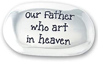 Inspirational OUR FATHER Prayer Thumb Stone ~ Faith POCKET Religious Keepsake Gift ~ EASTER ~ First Communion Confirmation ~ Christmas Stocking Stuffer ~ Sunday Bible School Gift ~