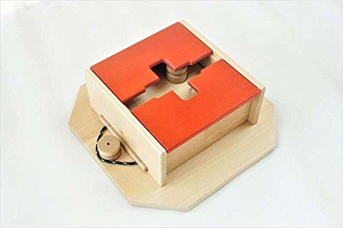 My Intelligent Dogs Interaktives Hundespielzeug aus Holz, M