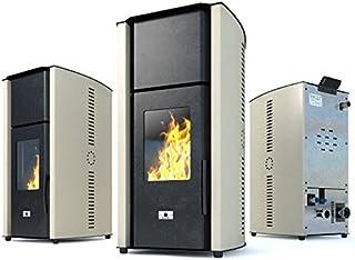 comprar comparacion Estufa caldera de pellets Eco Spar modelo Hydro Auriga Salida de calor 25kW