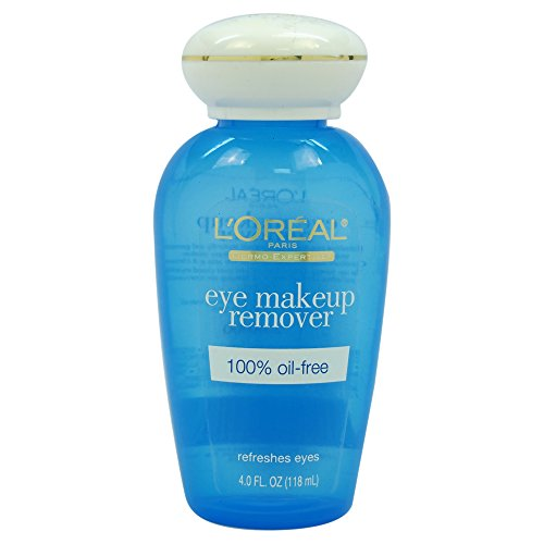 Gentle Eye Makeup Remover, L'Oreal Paris Dermo-Expertise Oil-Free Eye Makeup Remover, 4 fl. oz.