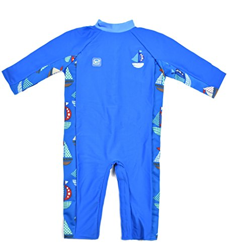 Splash About Baby UV all-in-One Sunsuit, Set Sail, 3-6 Months
