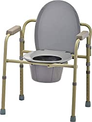 Nova commode portable toilet for disabled