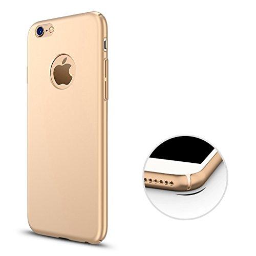 Carcasa para iPhone 7Plus, color dorado y negro, de lujo, con parte trasera fina, 5.5 pulgadas