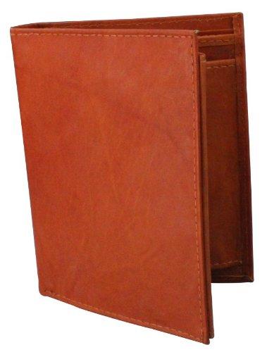 Alex Flittner Designs Echt Ledergeldbeutel/rot braune Ledergeldbörse/Portemonnaie | Brieftasche | Rindsleder