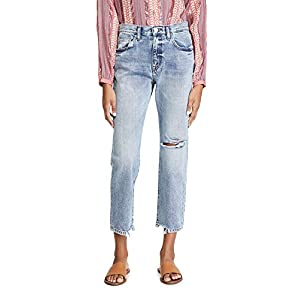 Current/Elliott Women's The Original Ankle Boyfriend Jeans