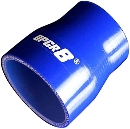 Upgr8 Universal 4-Ply High Performance Straight Coupler Silicone Hose 76mm Length 70MM , Red 2.75