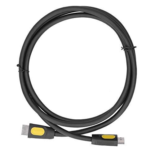 Cable de Interfaz Multimedia Cable HD Cable de Conexión Cable de Alta Velocidad 4K Compatible con TV/Computadora/Caja de TV(1.5m HDMI cable 4K)