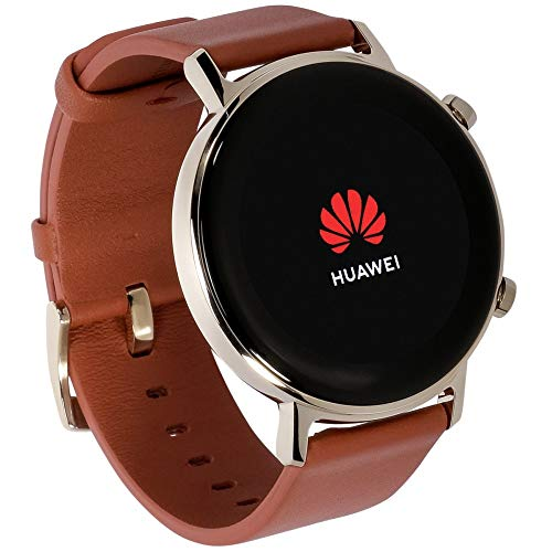 Huawei Watch GT2 (42mm) - Smartwatch Classic Chestnut Red