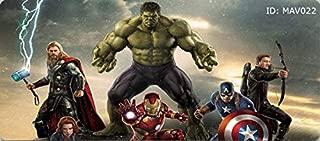 Captain America Marvel The Avengers Endgame Iron Man Spiderman Thor Gaming Infinity War Movie Mouse Pad Mousepads Superhero Xmen Desktop Computer Home Office Protector (M 700X300X3MM, MAV0022)