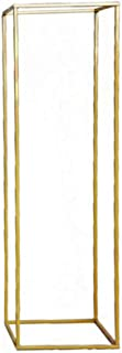 Lovt Wedding Flower Stand, 1/3/5PCS Metal Vases Column Stand for Wedding Head Table Decorations Ceremony Decor Party Reception Anniversary(1PCS,Gold)