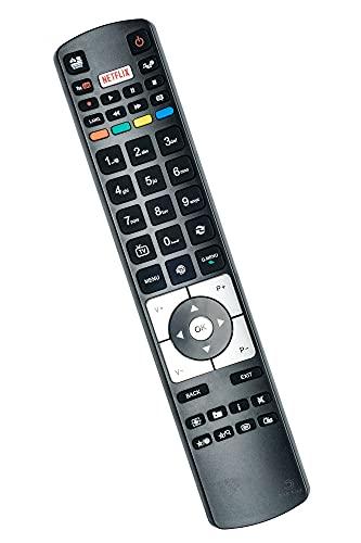 Ersatz Fernbedienung für Telefunken RC5118 Receiver Fernseher TV Remote Control