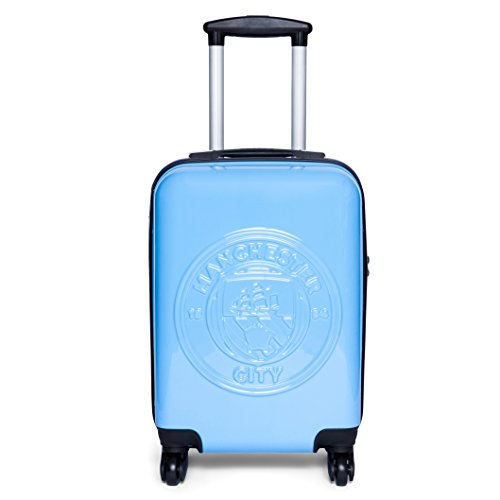 Manchester City FC Cabin Friendly Suitcase - Official Licensed Travel Case