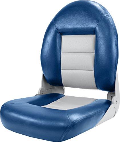 Tempress navistyle Hohe Rückenlehne Sitz, Blau/Grau