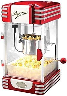 Les chefs professionnels Popcorn Maker machine Retro 1950 Édition popper air chaud avec des lames de mesure - 310W 220V