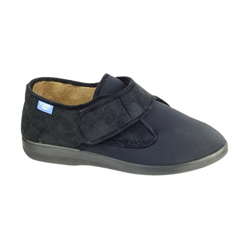 Zapatillas de Estar por casa para Mujer (45/Negro)