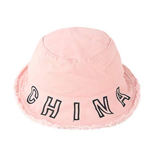 Voberry- Chapeau de Soleil de Protection Solaire en Tissu pour Enfants La Mode Écran Solaire de meulage pour Enfants Casquette de Baseball