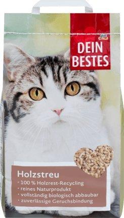 Dein Bestes Katzenstreu, Holzstreu, 10 l