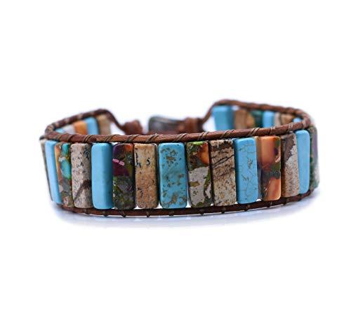 Haidar-Rajjouh Armbänder für Damen & Herren,Armschmuck,Handgefertigte,wickelarmband,pärchen...