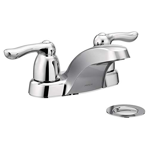 Moen 4925 Chateau Mélangeur faible Arc de salle de bain robinet, Chrome