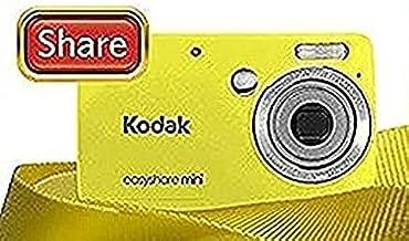Kodak Easyshare Mini M200 10 Mp Digital Camera with 3X Optical Zoom and 2.5-inch LCD - Yellow