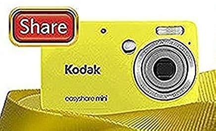 Kodak Easyshare Mini M200 Digitalkamera (10 MP, 3-facher optischer Zoom, 2,5 Zoll LCD), Gelb