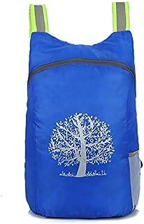 FEDULK Womens Men Durable Folding Packable Lightweight Backpack Daypack Hiking Climbing, Running and More