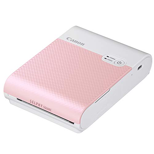 Canon スマートフォン用プリンター SELPHY SQUARE QX10 ピンク 高耐久/シール紙/コンパクト