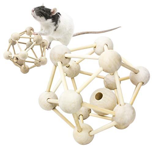 Rodents Residence Intelligenztrainer Atom für Nagetiere Kleintiere Ratte Chinchilla Frettchen Degu Hörnchen Intelligenz Reaktion Spielzeug