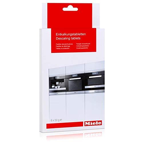 Miele Entkalkungstabletten für Dampfgarer, Kaffeemaschinen, Backöfen mit Klimagaren