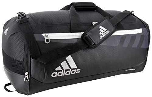 adidas Unisex Team Issue Medium Duffel Bag, Black, ONE SIZE
