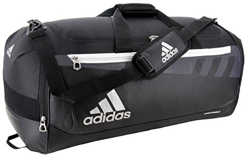 adidas Unisex Team Issue Large Duffel Bag, Black, ONE SIZE
