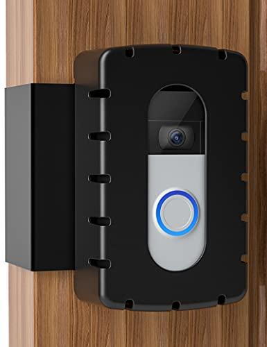 COOLWUFAN Anti-Theft Video Doorbell Door Mount, Video Doorbell Mount, Steel & Hard Plastic Doorbell Mount for Most Video Doorbells