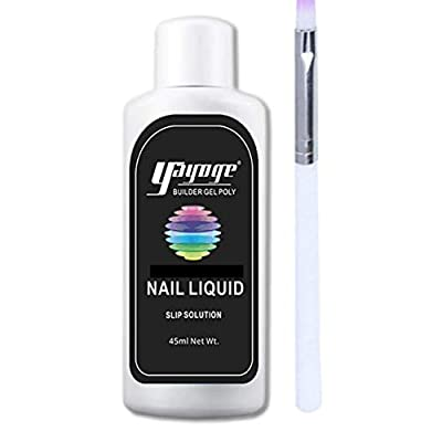 GenZ Poly Nail gel Slip Solution W/Poly Gel Brush 2-4 day Delivery